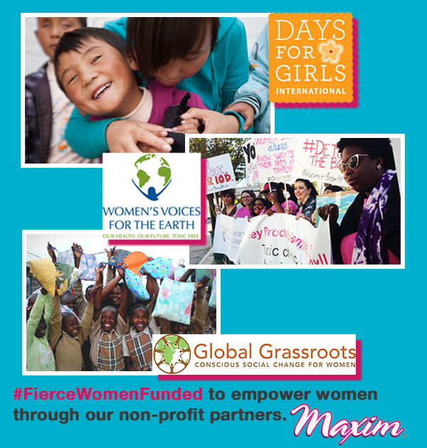 #FierceWomenFunded non-profits for women's empowerment