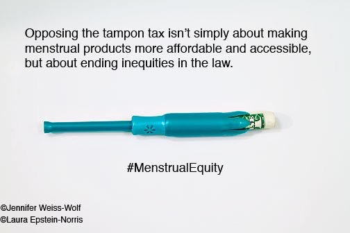 menstrual equity and the #tampontax