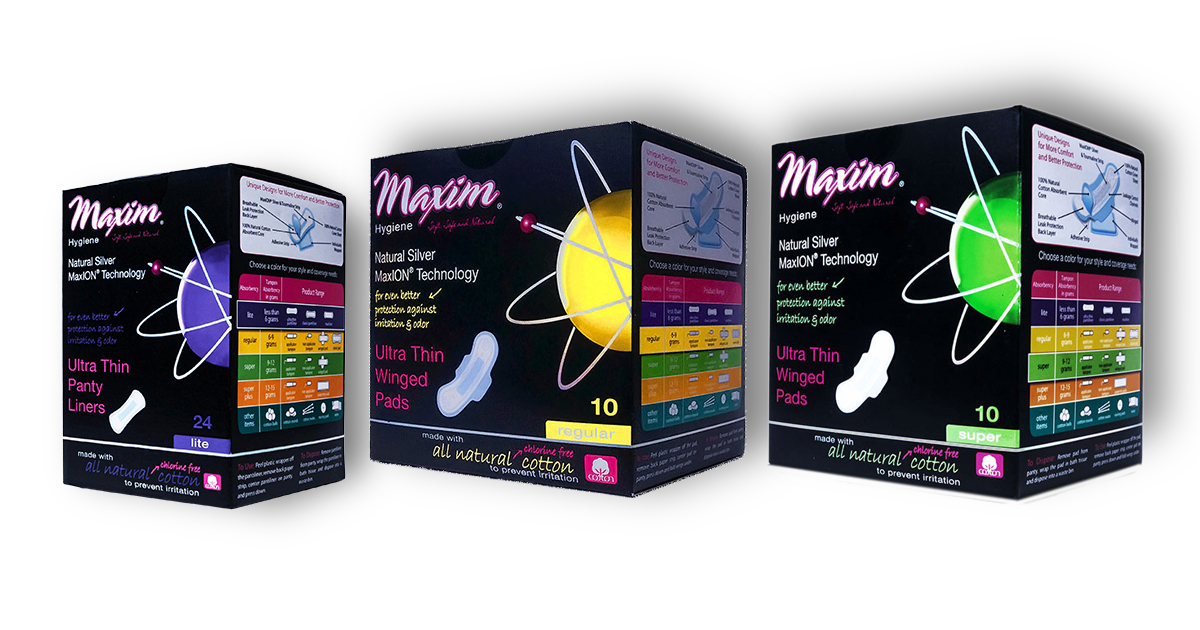 MaxION Pads and Liners